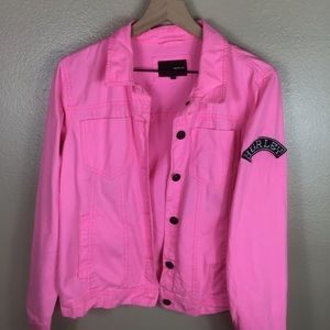 Hurley Pink Denim Jacket